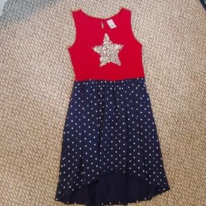 Gymboree Girls Patriotic cotton dress